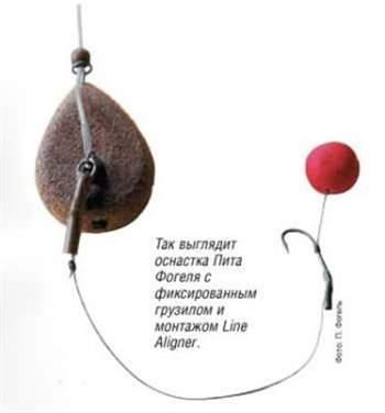 волосяной монтаж для ловли сазана
