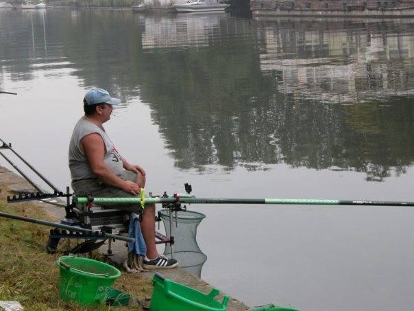 удочка для ловли в водорослях