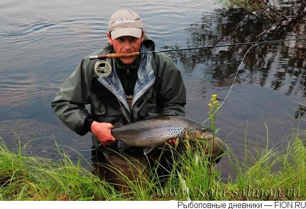 рыбалка в июле на кольском полуострове