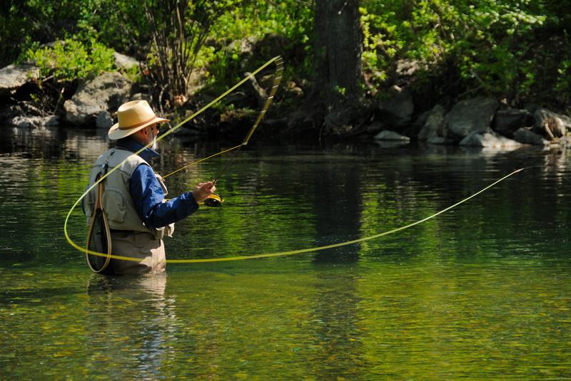 принципы рыбалки нахлыстом