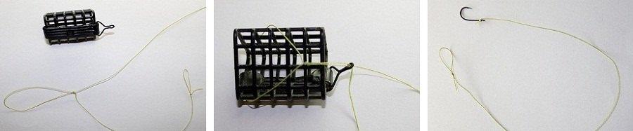 способы вязания петель нате фидер