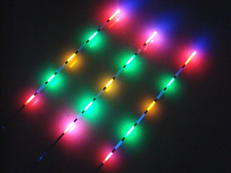 Светящиеся поплавки со светодиодами своими руками 344