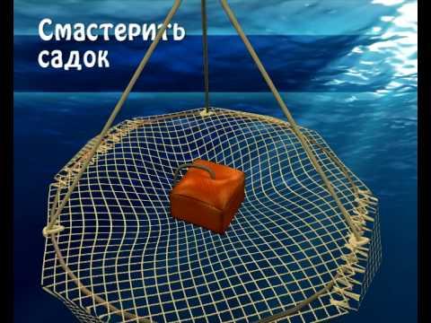 самодельные сети для ловли рыбы
