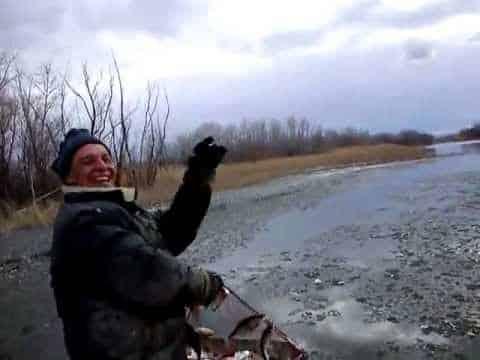 видео рыбалка ловля щуки весной на сети