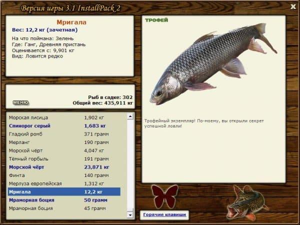 Русская рыбалка 3.7 геймплей
